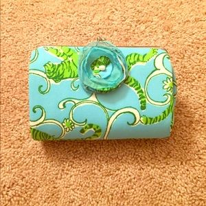 Lilly Pulitzer Vintage inspired clutch
